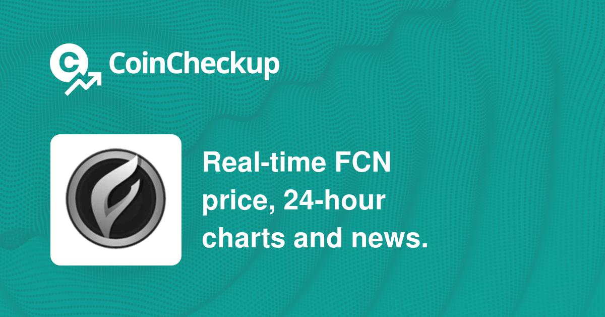 fcn coin price